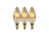 3x Lucide LED Lamp | C35 | 3 W
