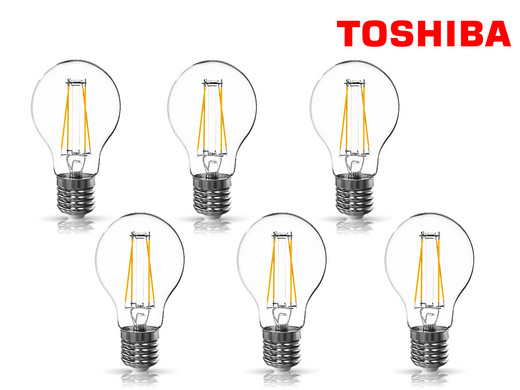 6x Toshiba Dimmbare Led Lampen Mit E27 Fassung Internet S Best