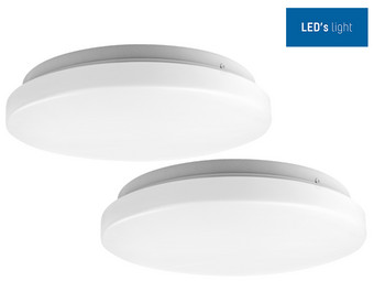 2x oprawa sufitowa LED's Light | Ø 26 cm | 14 W
