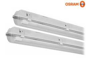 2x Osram Submarine LED Lamp & Behuizing