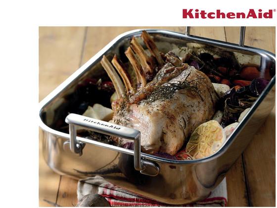 KitchenAid 18/10 RVS Braadslee