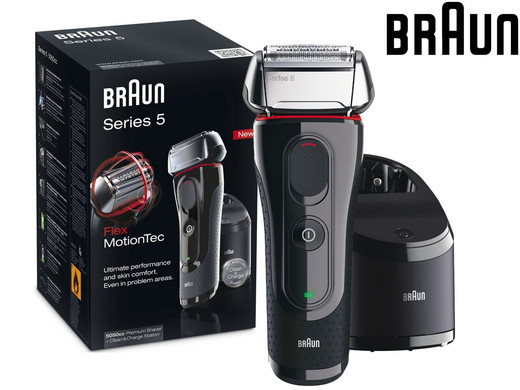 braun series 5 shaver with clean charge station internet. Black Bedroom Furniture Sets. Home Design Ideas