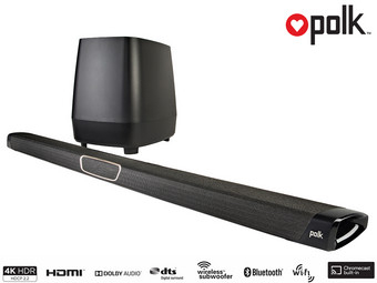 Polk MagniFi MAX Home Cinema Soundbarsysteem