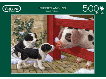 Falcon Puppies & Pig Puzzel