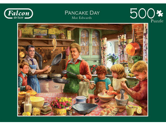 Falcon Pancake Day Puzzel