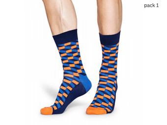 6 par skarpet Happy Socks