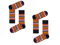 2x Happy Socks | Stripe & Stripe 41-46