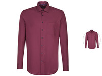 Overhemd Bordeaux | Modern of Slim Fit