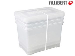 3x Opbergbox Handy (65 L)