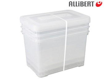 3x Allibert Opbergbox Handy | 65 L