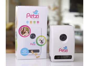 Wagz Petzi Smart Snack Dispenser z kamerą i mikrof