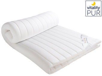 Vitality Pur Sleep Fit Traagschuim Topper | 140 x 200 cm