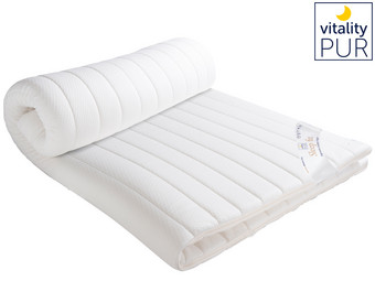 Vitality Pur Sleep Fit Traagschuim Topper | 160 x 200 cm