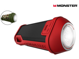 Monster Firecracker HD Bluetooth Speaker