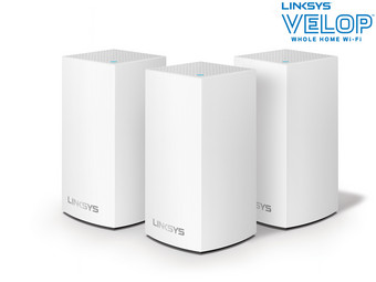 Linksys Velop Dual-Band WLAN-System | AC3900