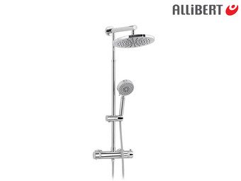 Allibert Segura Regendusche inkl. Thermostat