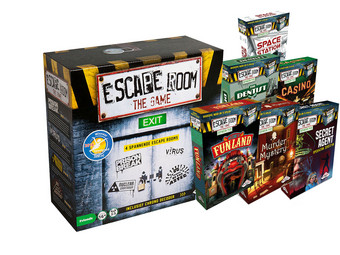 Escape Room The Game + 6 Uitbreidingen