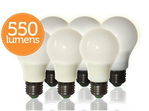 Quintezz dimmbare led lampen u2013 e27 6er pack internets best