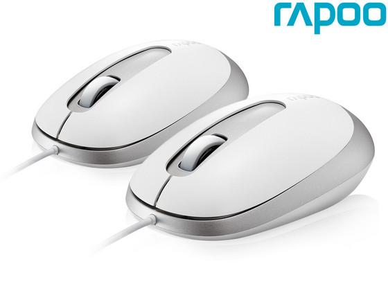 4x Rapoo N3200 Optische Muis | 1000 DPI