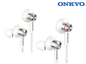 2x Onkyo Hi-Res In-Ears | E600MW/00