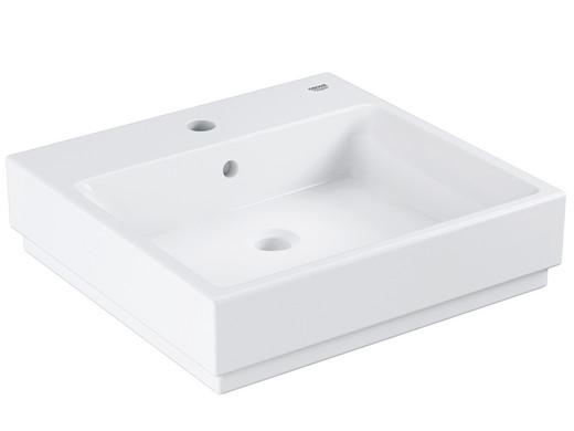 Wastafel 50 Cm : Grohe cube ceramic wastafel wand cm internet s best