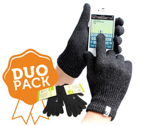 Duo-Pack Agloves Touchscreen-Handschuhe