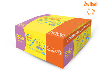 1512x Zwitsal Sensitive Billendoekjes
