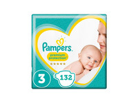 Pampers Premium Protection 3 | 132 szt.