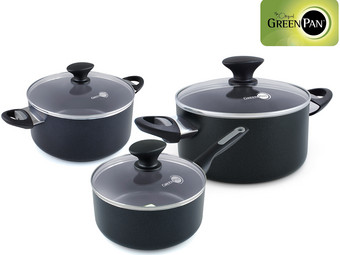 GreenPan Sofia Topf-Set | 3-tlg.