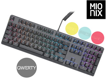 Mionix Wei Mechanisch Cherry MX Toetsenbord | QWERTY