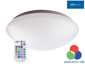 Lampa sufitowa Led's Light RGB