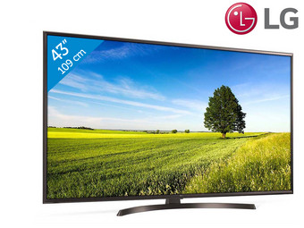 LG 43″ 4K Ultra HD Smart TV | webOS | HDR | 43UK6470PLC