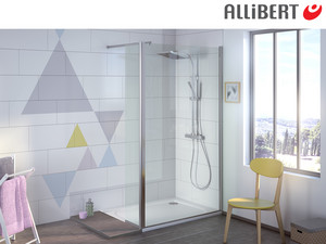 Allibert Walk-in Douche | 90 cm