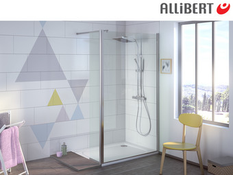 Allibert Kobana Walk-in Douche | 90 cm