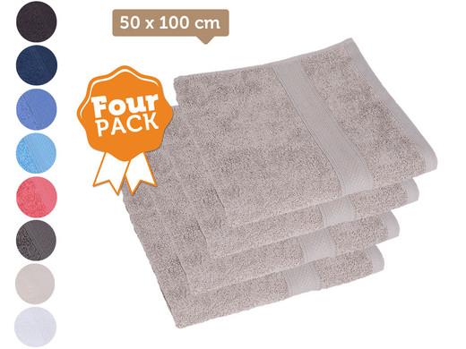 Jules Clarysse Badtextiel.Jules Clarysse 50 X 100 Handdoeken 4 Pack Internet S Best Online