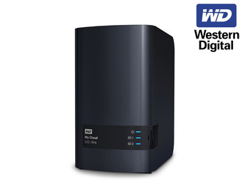 Western Digital My Cloud EX2 Ultra 8TB, 1x Gb LAN
