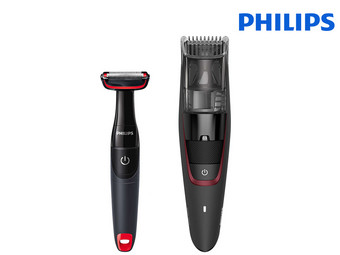 Philips Series 7000 Baardtrimmer met Turbovac en Bodygroomer | BT7501/85