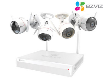 Ezviz ezWireless Kit | Bewakingssysteem Incl. 4 Camera's