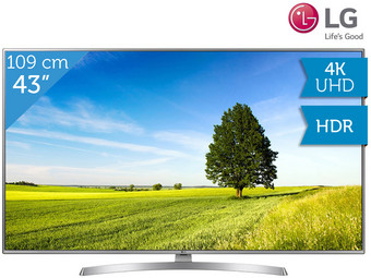 "LG 43"" 4K UHD LED TV 