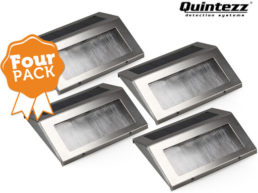 4-Pack Quintezz Solar Deco LED-lamp - Internet\'s Best Online Offer ...