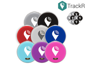 8x TrackR Pixel | Bluetooth Tracker voor iOS en Android