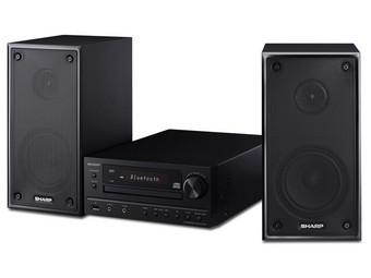 Sharp Hifi Micro Stereo System Cd Mp3 Bluetooth Dab