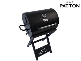 Patton Barrel Chef Charcoal Grill