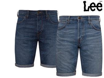 Lee bequeme Denim-Shorts für Herren
