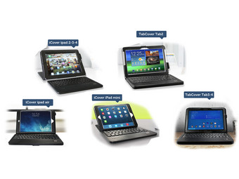 Tabletcovers met BT
