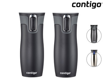2x Contigo West Loop Thermosbeker | 470 ml