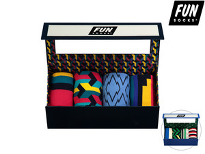 Fun Socks Gift Box Heren | 41-46