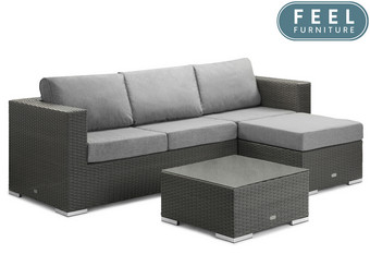 Feel Furniture Wicker River Loungeset | Basic