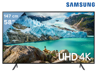 Samsung 58″ 4K Smart LED TV | Series 7 | UE58RU7100