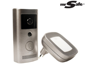 Mr Safe Wifi Video Deurbelset